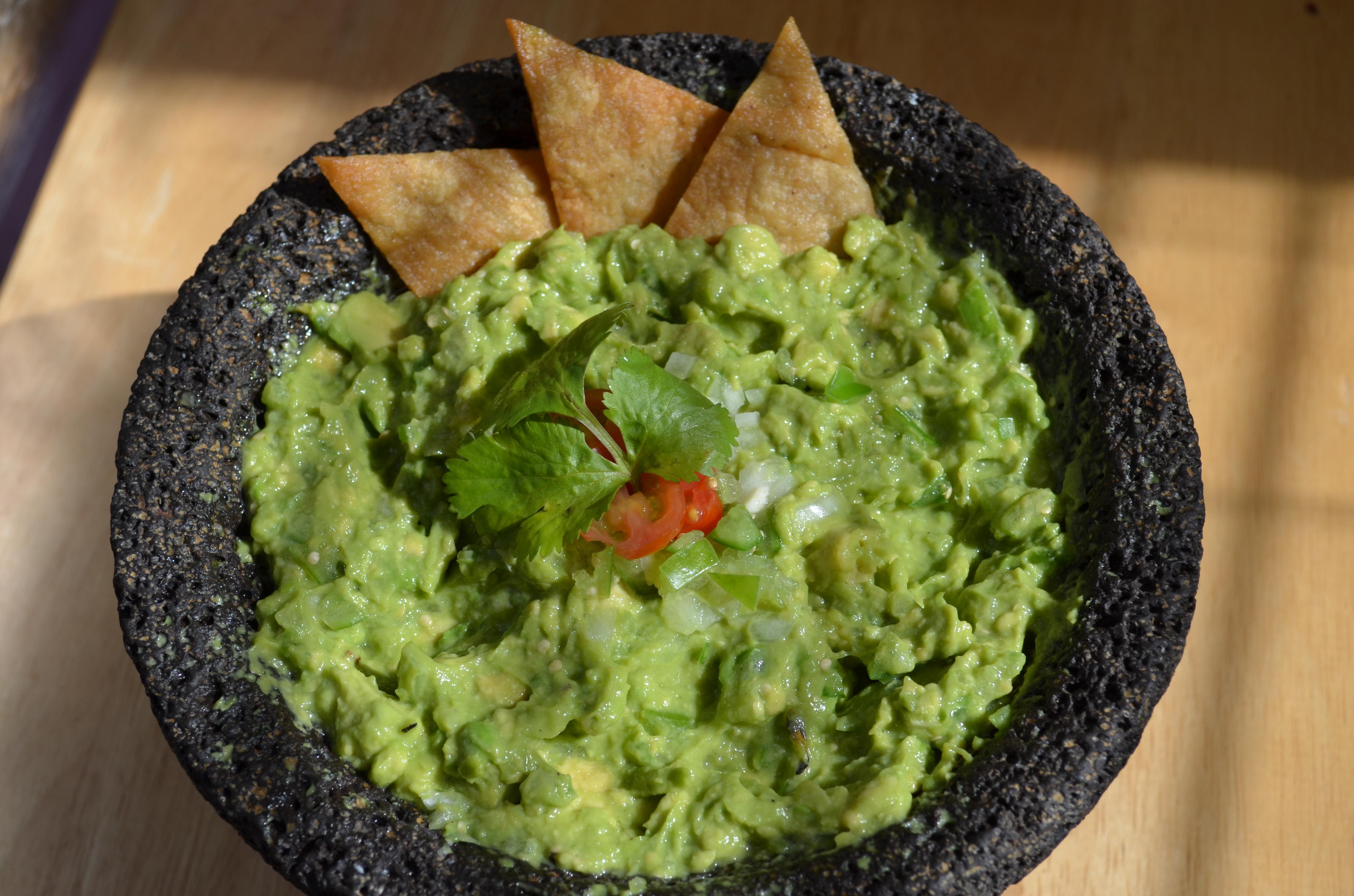 Avocado-tomatillo guacamole | Bread and Tortillas